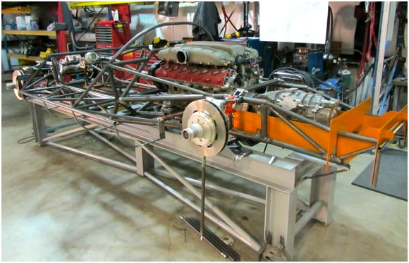 P4 By Norwood Chassis Assembly Part 1 Autofluence
