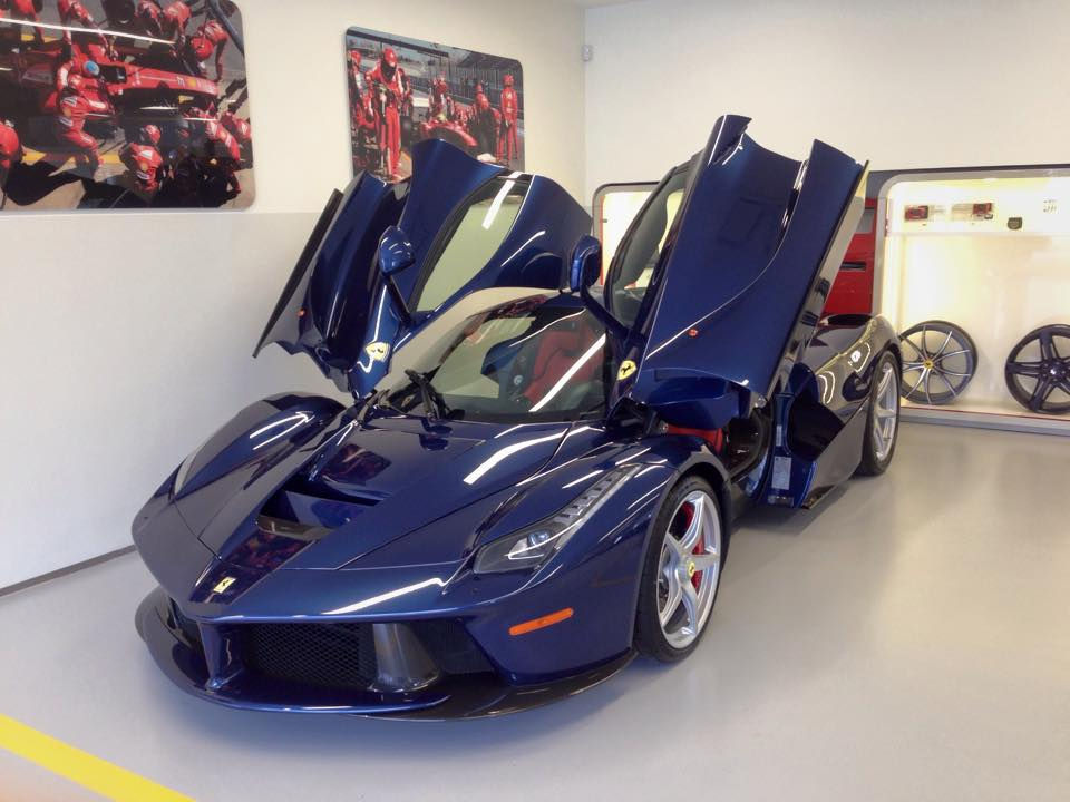 Blue Laferrari Delivered By Miller Motorcars Autofluence