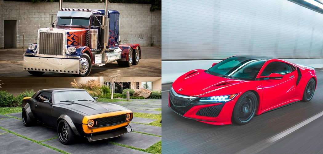 Barrett-Jackson to Auction First 2017 NSX for Charity, and Optimus Prime and Bumblebee