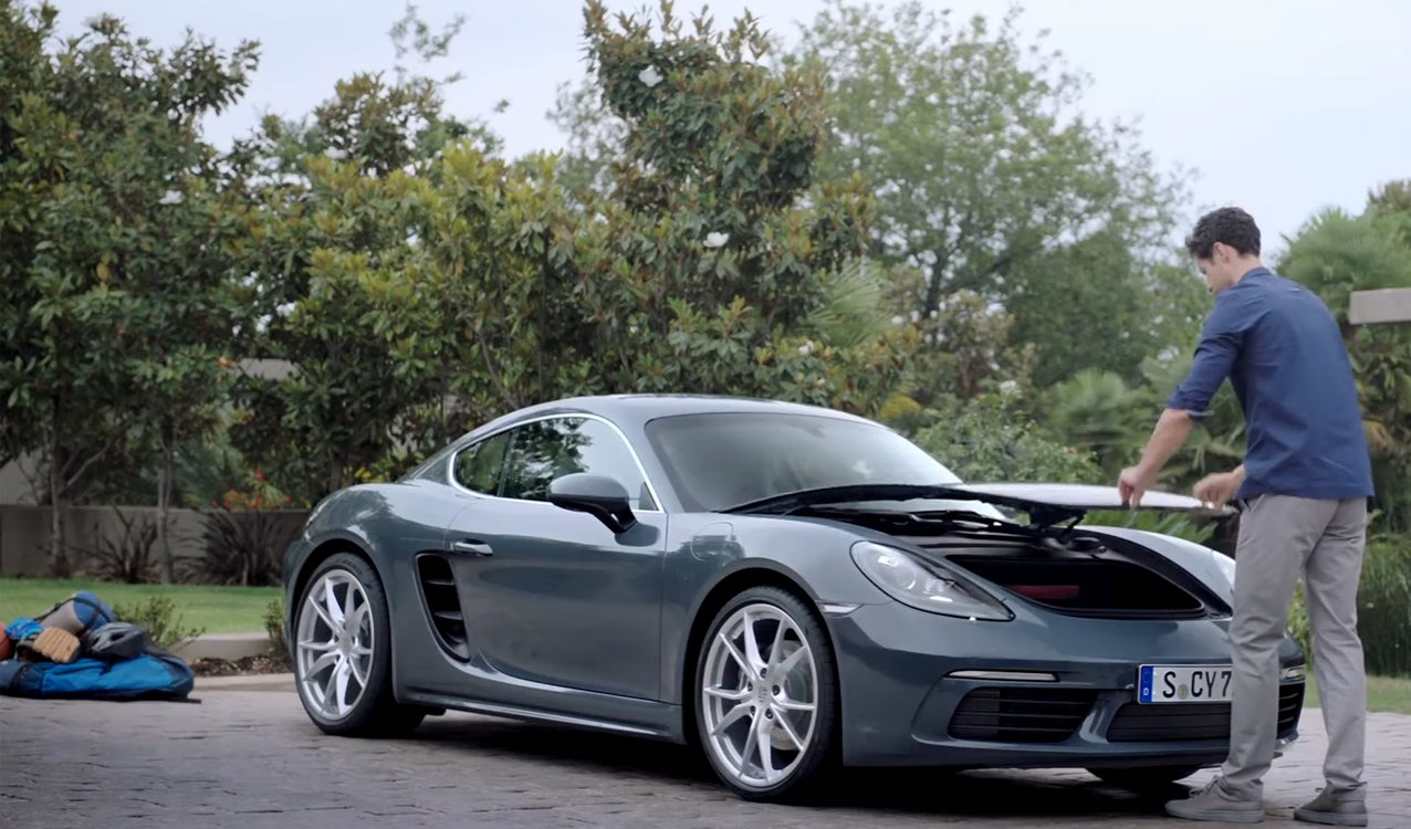 How Much Can You Fit In A 718 Cayman
