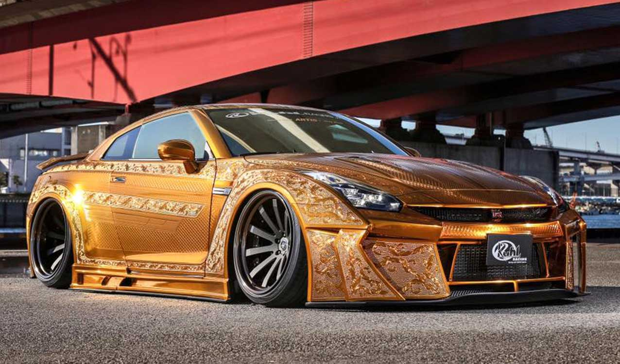 Gold Engraved Nissan Gt R Costs Over 1 Million