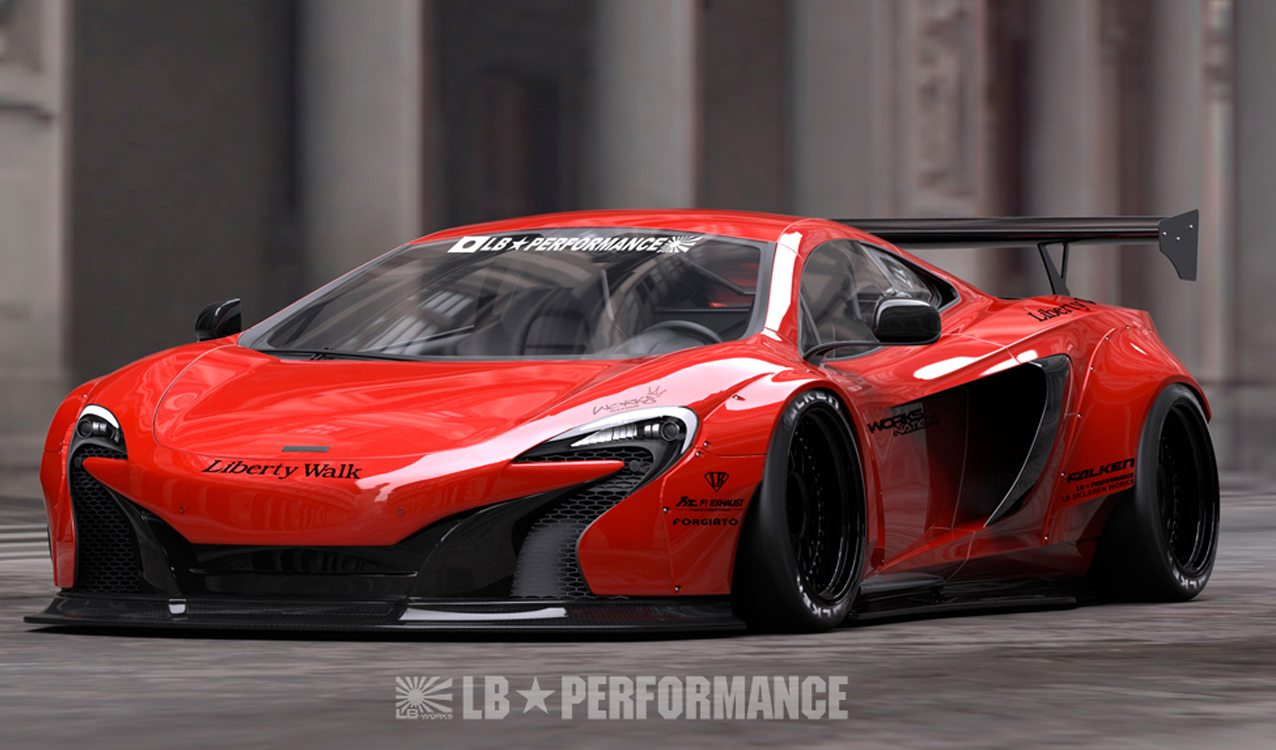Widebody Liberty Walk Mclaren 650s Kit Revealed W Price