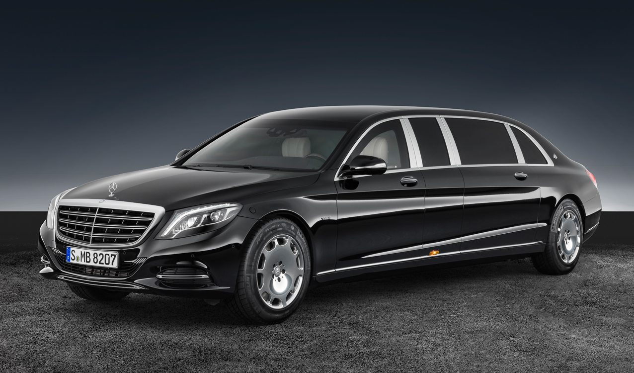 Revealed 2017 mercedes maybach s 600 pullman guard for Mercedes benz guard for sale