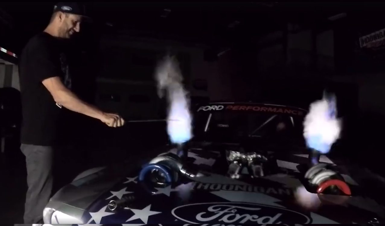 Ken Block S Hoonicorn V2 1 400 Hp Twin Turbo Awd Mustang