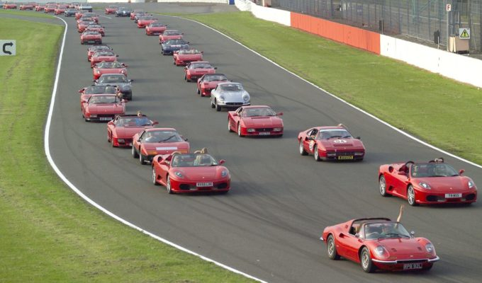 Over 1,000 Ferraris Set to Break World Record at Ferrari Mondiali