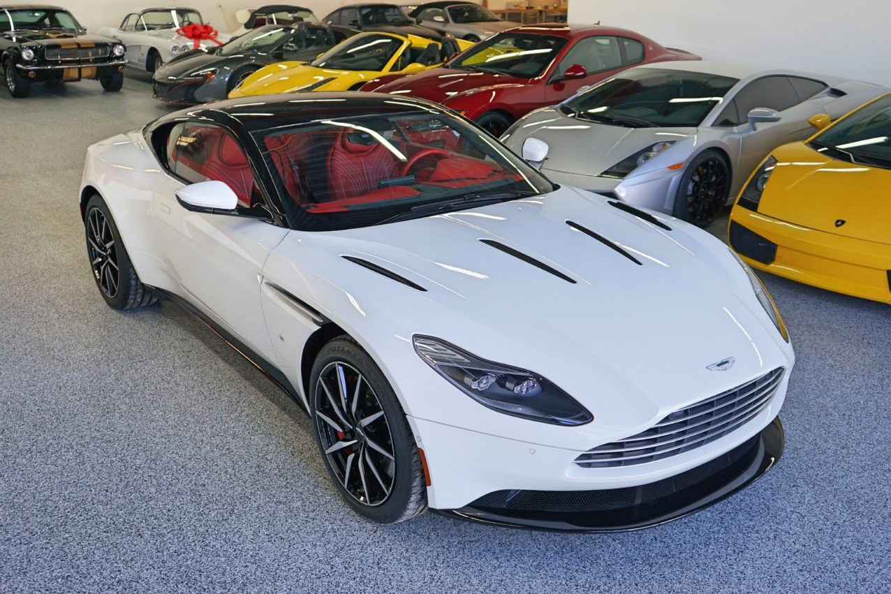 Aston Martin Db11 For Sale >> White 2017 Aston Martin DB11 You Can Buy Right Now