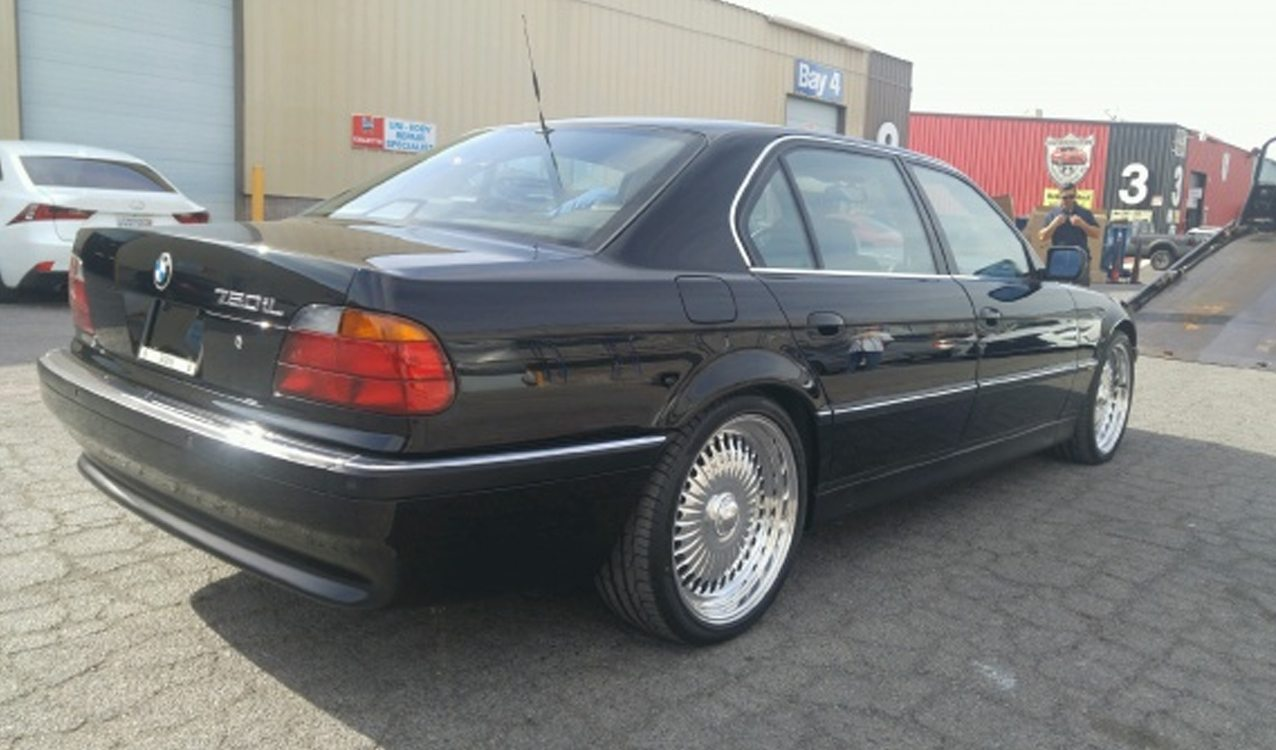 Bmw 750il Tupac Was Shot In Is Up For Sale
