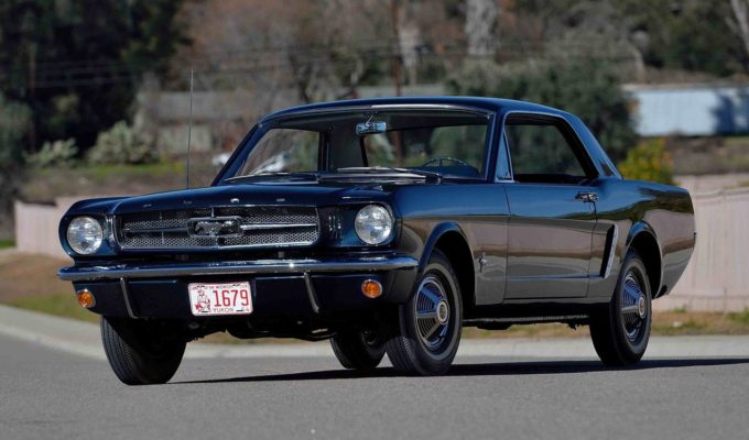 First Production Ford Mustang Coupe Heading To Auction