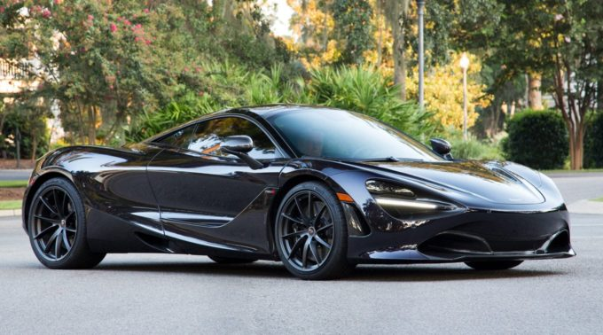 2018 McLaren 720S Being Auctioned With No Reserve