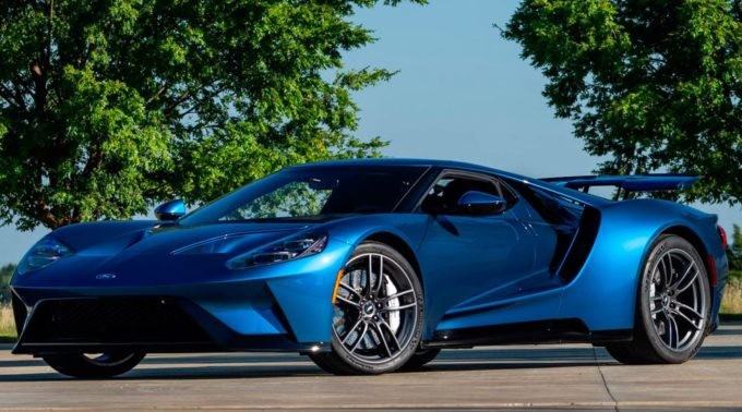 John Cena's Ford GT Sells Big at Mecum Dallas