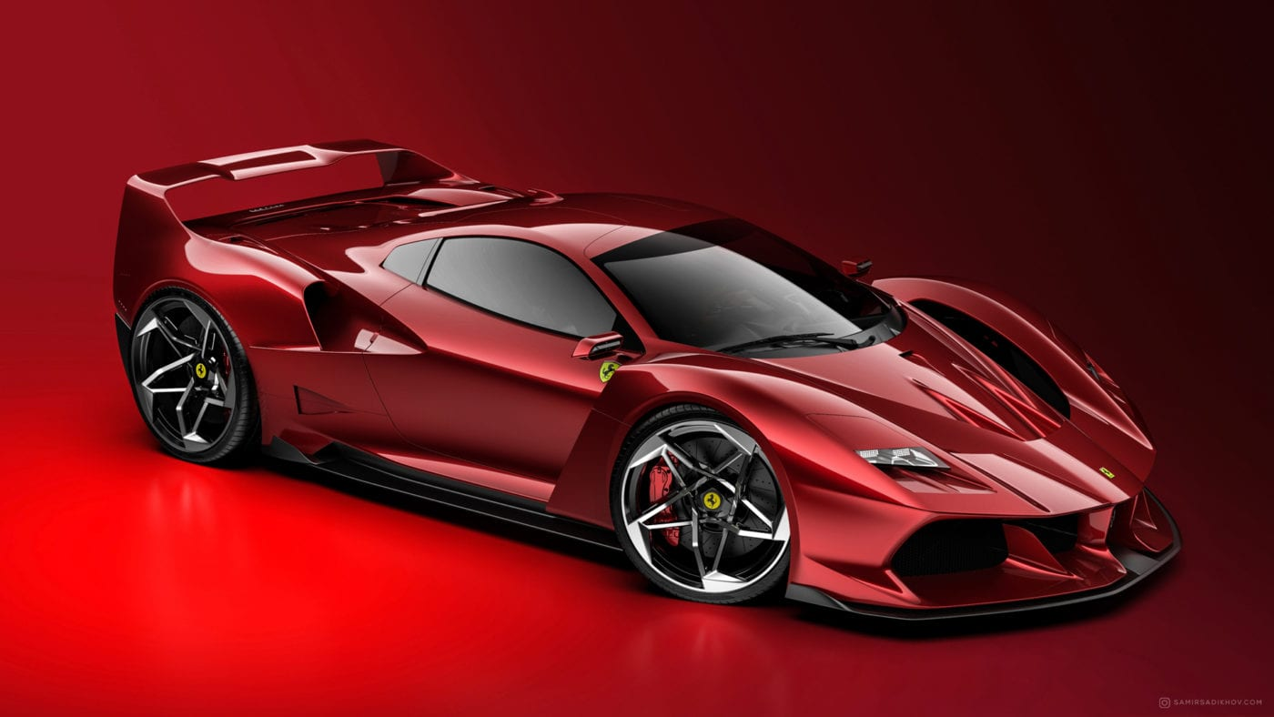 Ferrari F40 Tribute is What We Need in the World