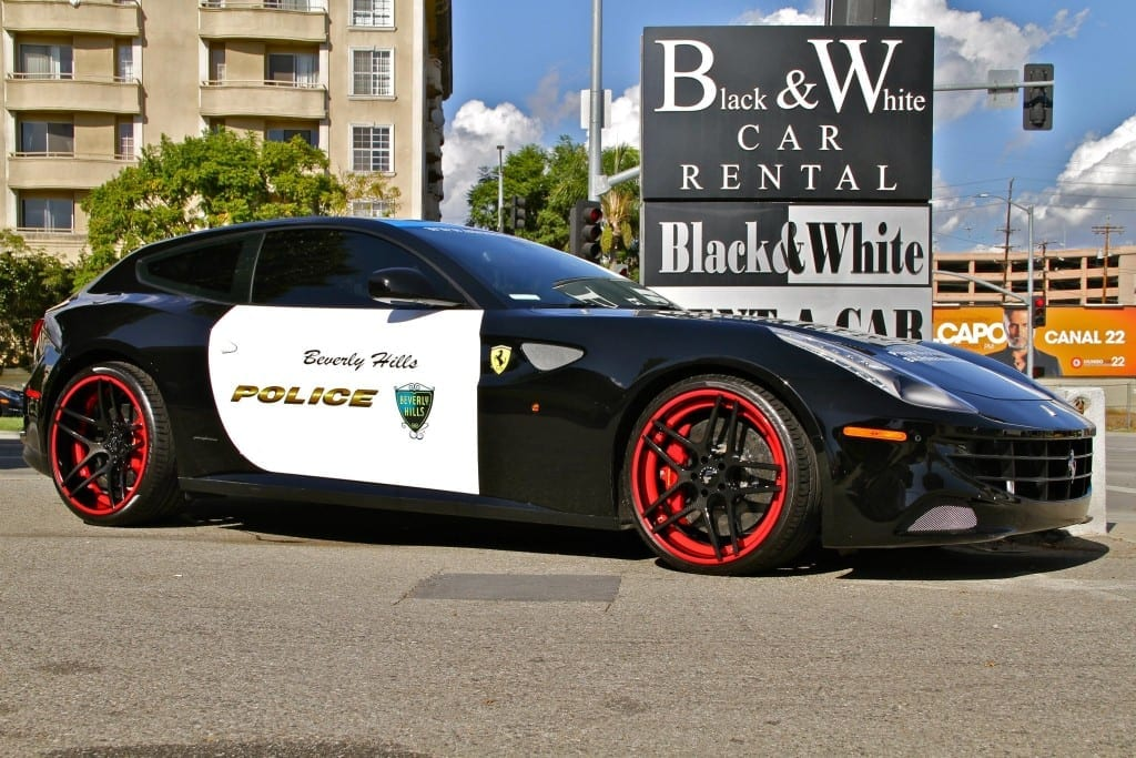 Beverly Hills Gets Ferrari Ff Police Car Autofluence Com