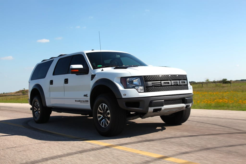 Hennessey VelociRaptor SUV Conversion | Autofluence