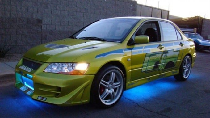 paul walker s mitsubishi evo for sale autofluence. Black Bedroom Furniture Sets. Home Design Ideas