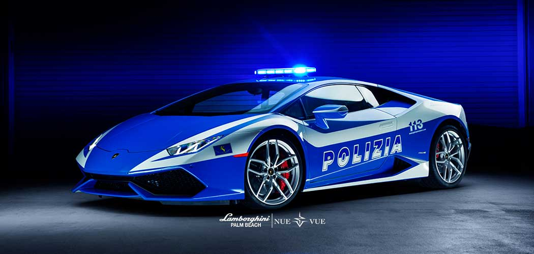 Lamborghini Palm Beach Launches Hurac 225 N Police Car