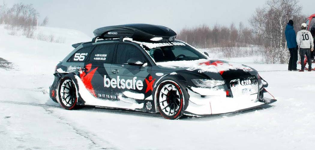 Jon Olsson Goes To Uber With His Audi Rs6 Dtm