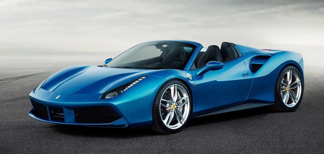 Why the Ferrari 488 Spider Debuted in Blue
