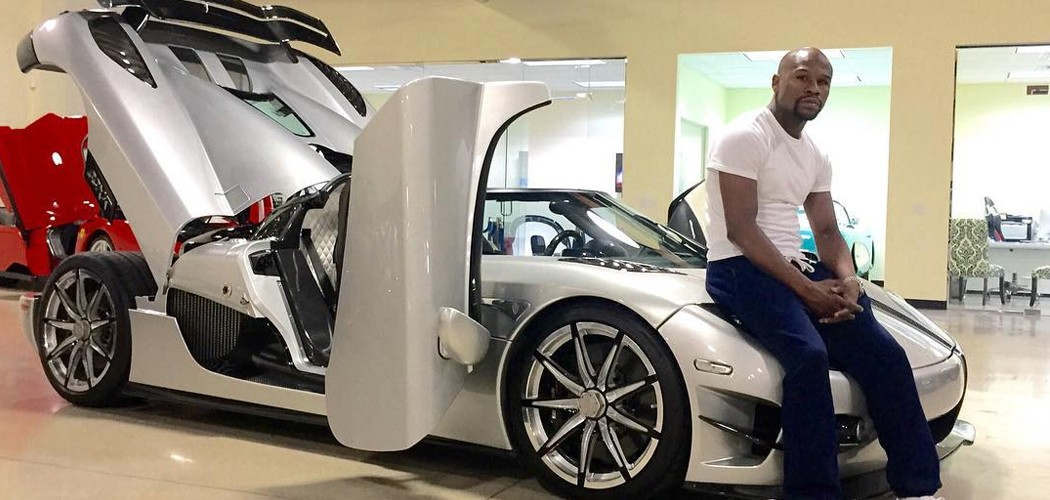 Koenigsegg Ccxr Trevita >> Floyd Mayweather Reveals $4.8 Million Koenigsegg Purchase