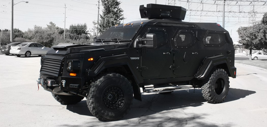 Terradyne RPV Civilian Edition: Limited, Tactical, Armored ...