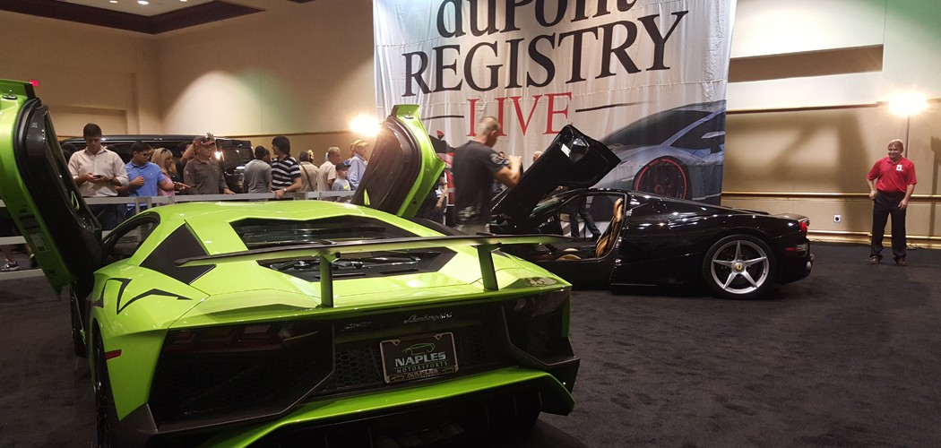 Tampa Bay International Auto Show And DuPont REGISTRY Live - Tampa car show