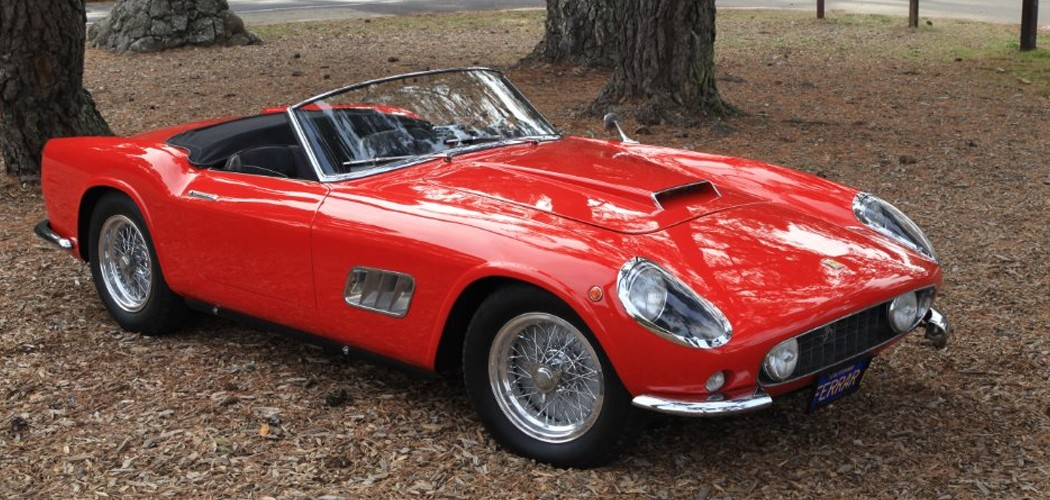 Movie Cars For Sale >> 1959 Ferrari 250 GT LWB California Spyder at Gullwing Motor Cars