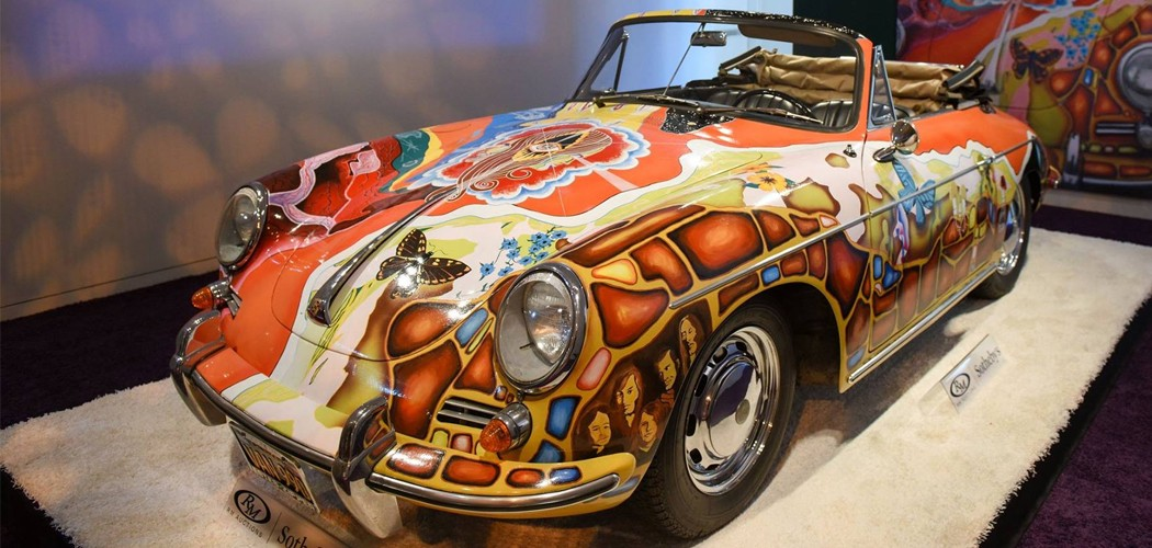Rm Sotheby S Auctions Off Janis Joplin S Porsche For Record Numbers