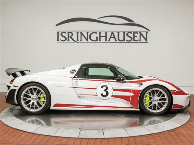 Cars For Sale Springfield Il >> Salzburg Racing Livery Porsche 918 Spyder For Sale