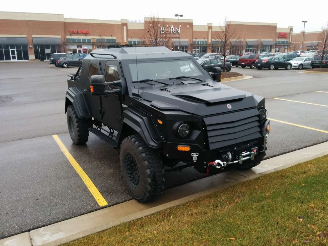 Armored Truck For Sale >> Terradyne: Taking Armored SUVs to the Next Level