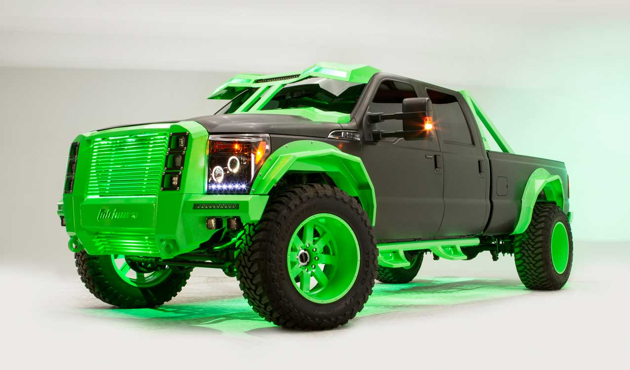 Fab Fours Krypton Mean And Green Custom Truck