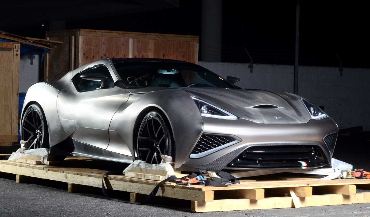 Revealed The Icona Vulcano The Titanium Supercar