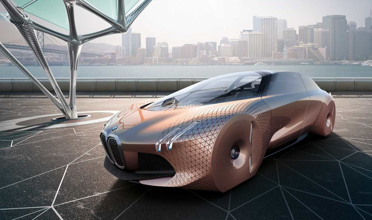 Bmw Envisions Future With Vision Next 100 Concept