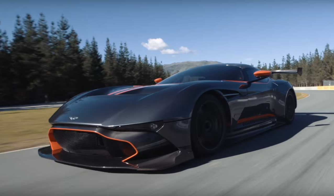 Aston Martin Vulcan Arrives In New Zealand