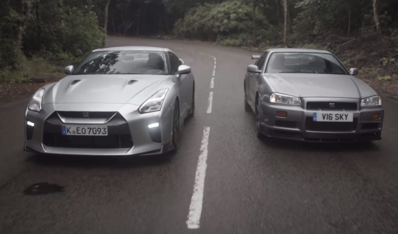 Old Meets New: Nissan Skyline GT-R R34 vs 2017 GT-R