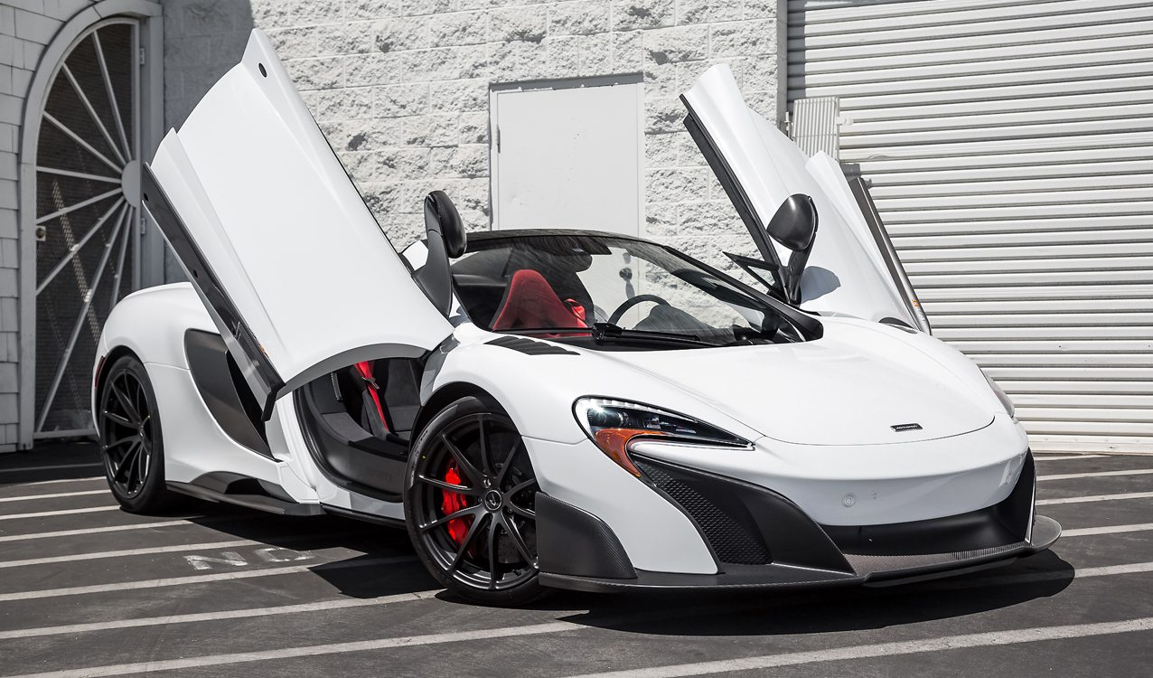 Carbon Fiber Loaded 2016 Mclaren 675lt Spider For Sale