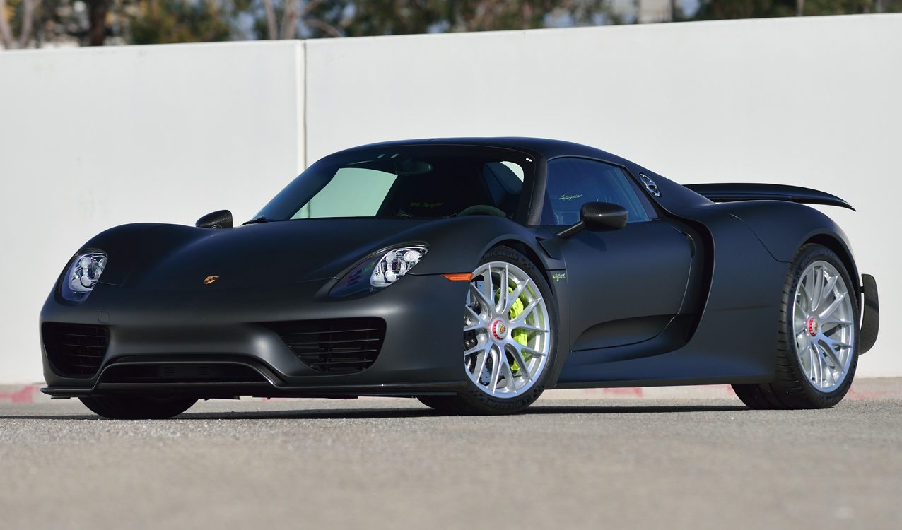 only carbon exposed porsche 918 spyder weissach in the u s now available. Black Bedroom Furniture Sets. Home Design Ideas