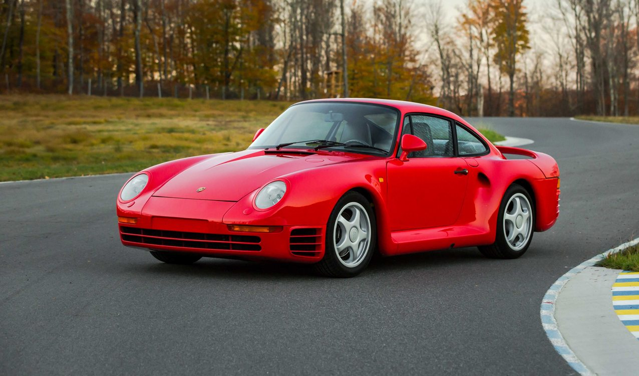 Sports Cars For Sale >> Rare 1987 Porsche 959 'Komfort' at Monterey