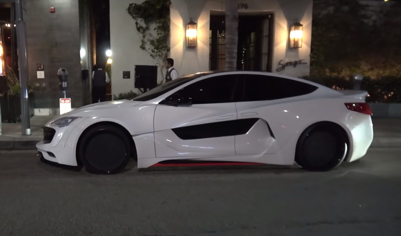 Will.i.am's Custom Wide Body Tesla Model S is Everything