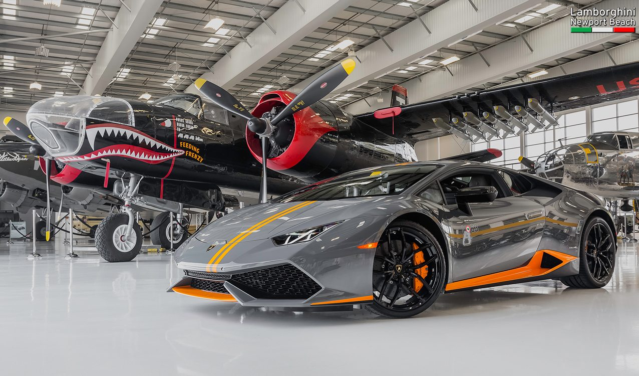 lamborghini hurac n lp 610 4 avio edition at the lyon air museum. Black Bedroom Furniture Sets. Home Design Ideas