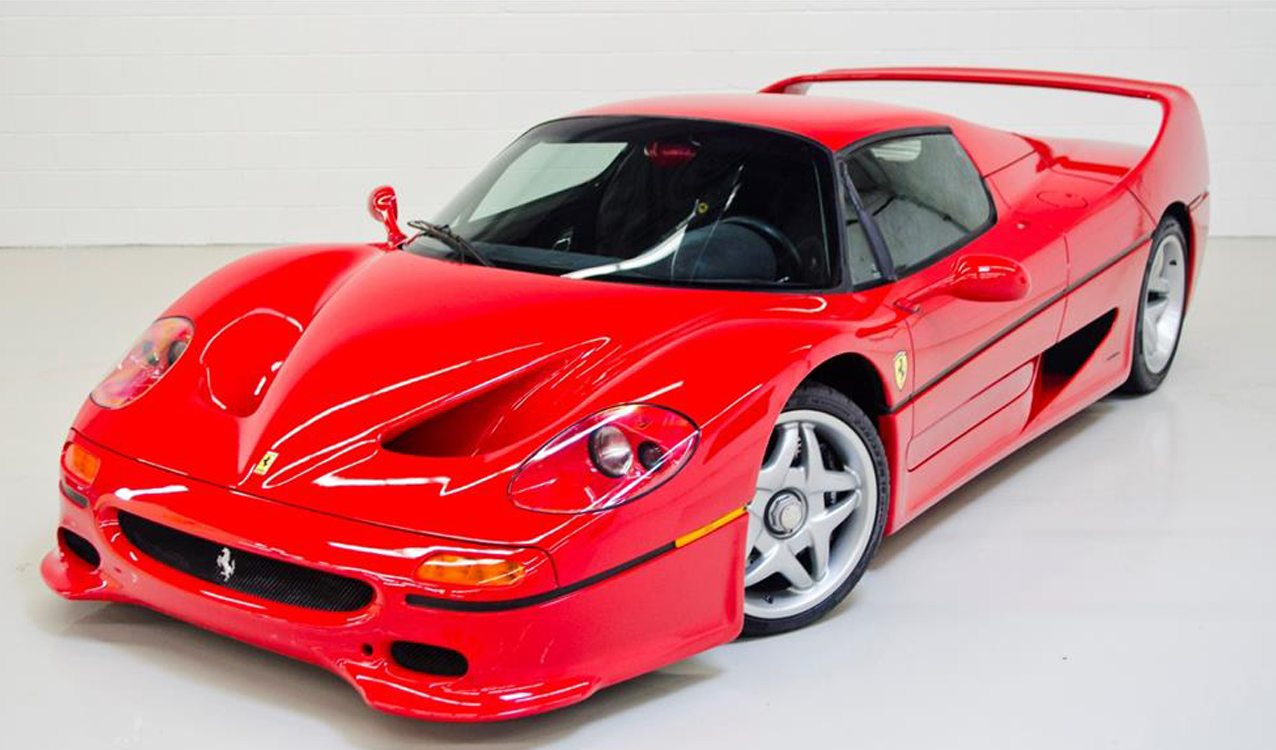 To Celebrate A Half Century Of Building The Worldu0027s Fastest Cars, Ferrari  Built One For The Ages. The F50 Reigned Supreme From 1995 To 1997 As The  Successor ...