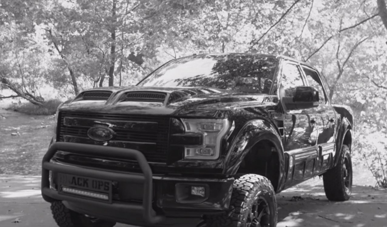 Ford Tuscany Price >> Up Close With The Ford F-150 Black-Ops Edition by Tuscany