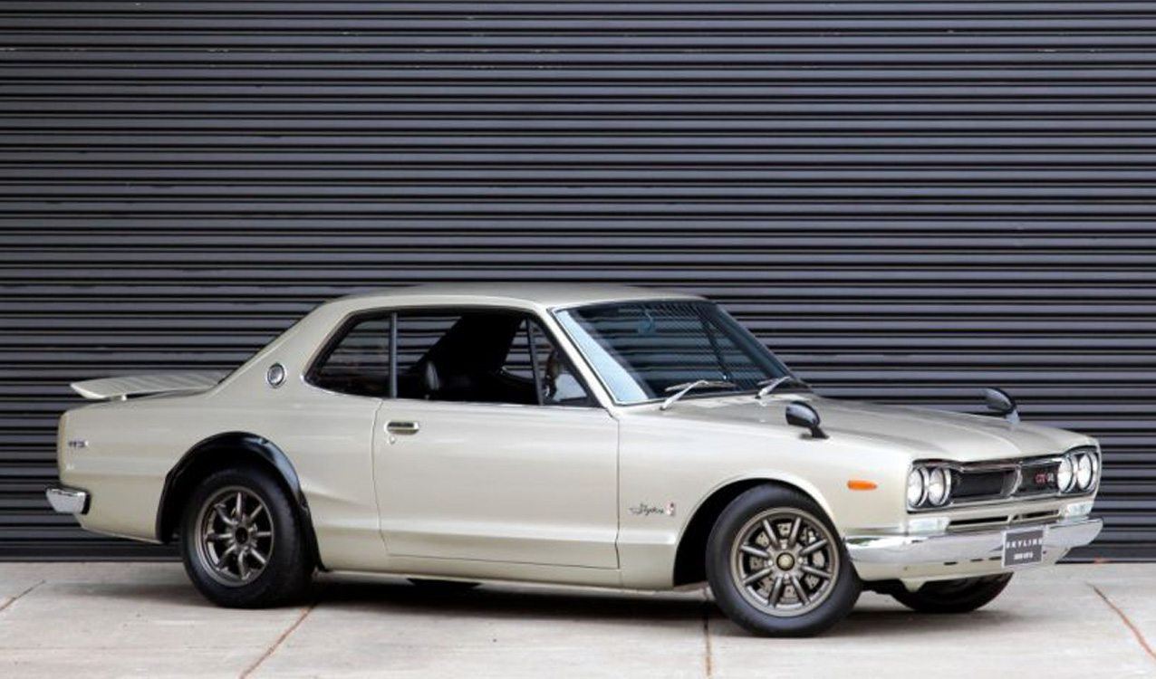 incredibly rare 1972 nissan skyline gt r hakosuka for sale. Black Bedroom Furniture Sets. Home Design Ideas
