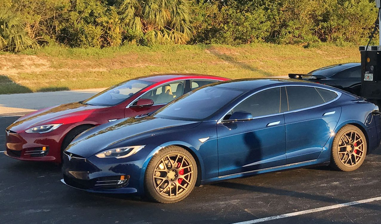 Land Rover Palm Beach >> Tesla Model S P100D: Did it Just Become the Quickest Stock ...