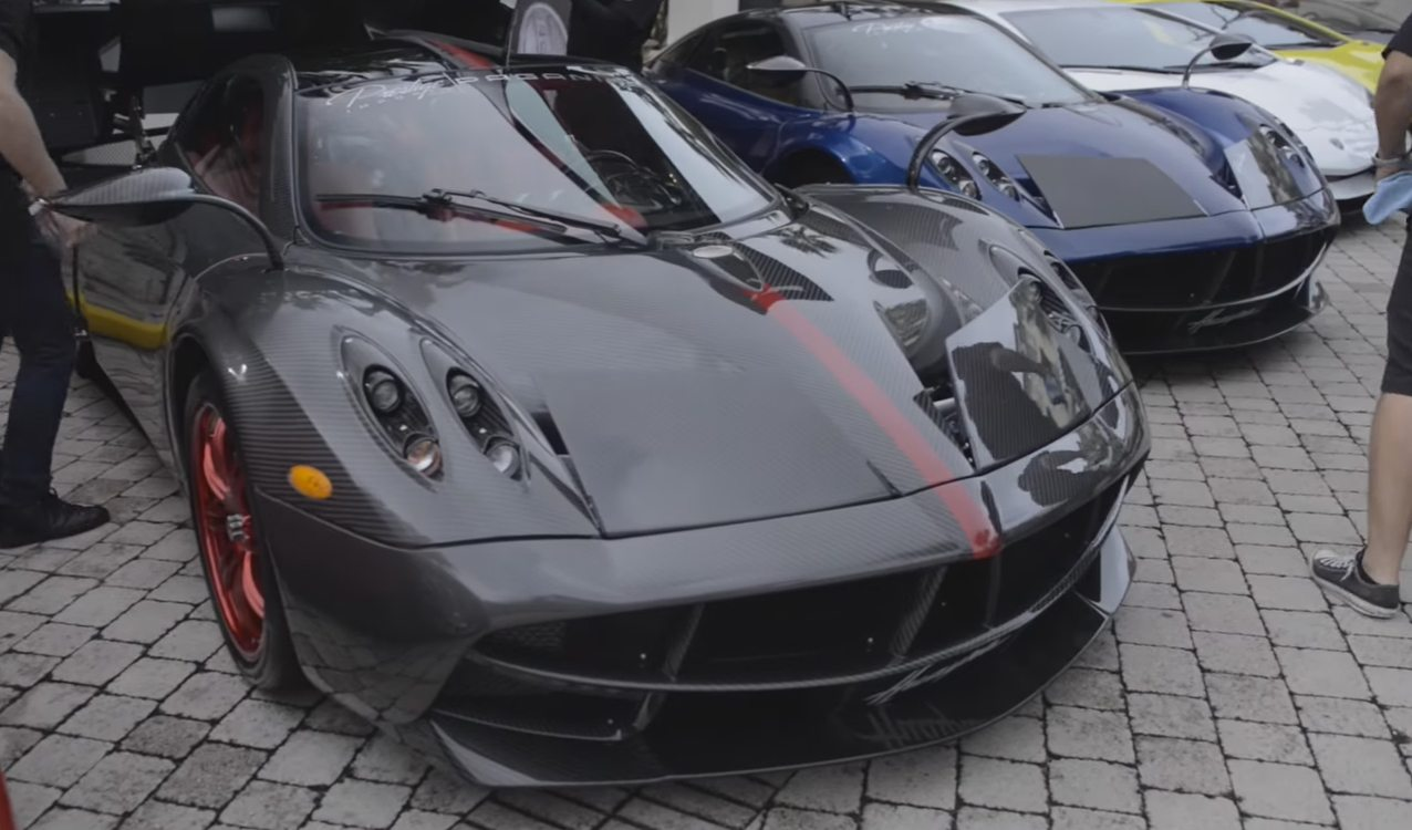 2016 South Florida Exotic Car Toy Rally For Toys For Tots