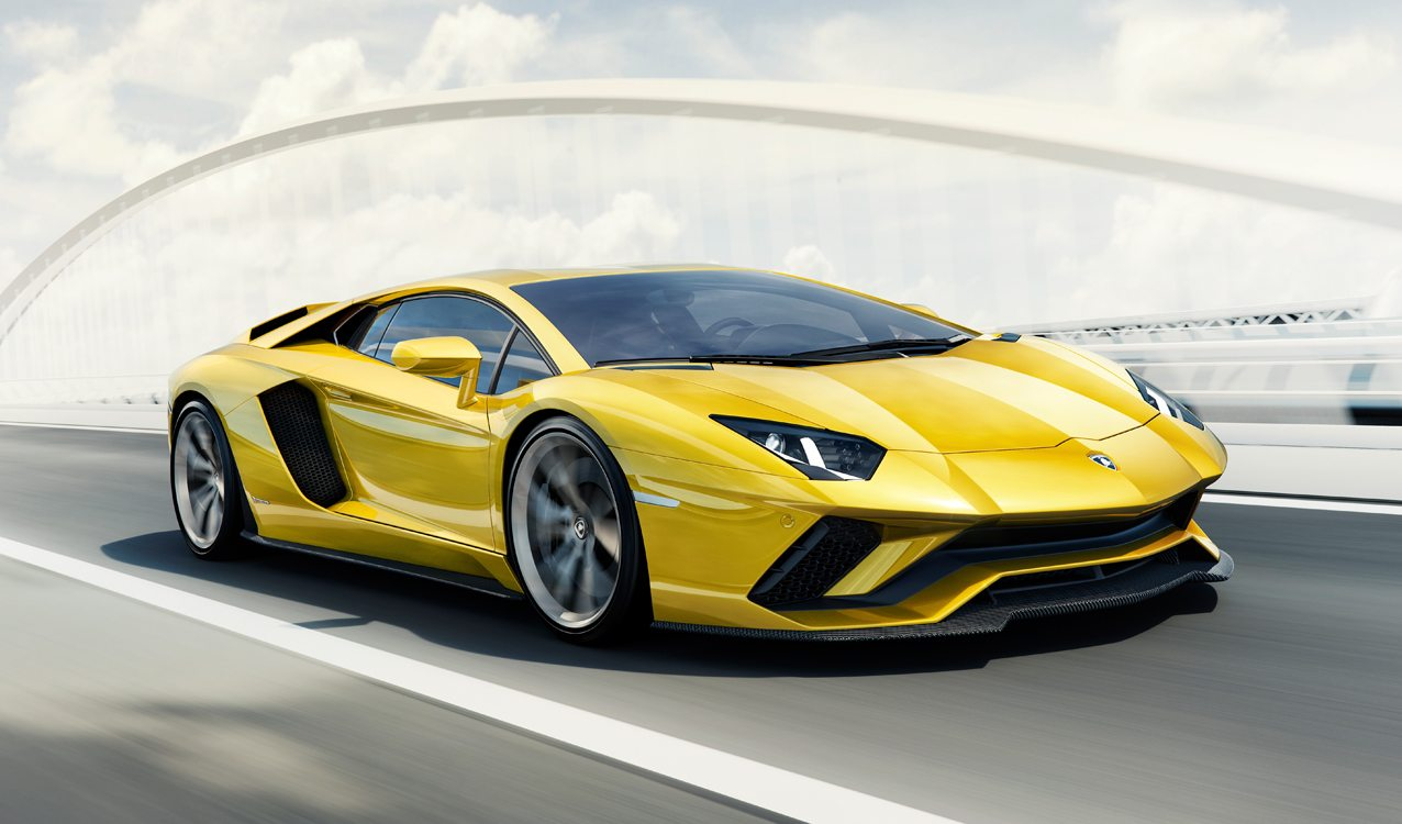 Lamborghini Aventador S Revealed More Power And Four Wheel Steering