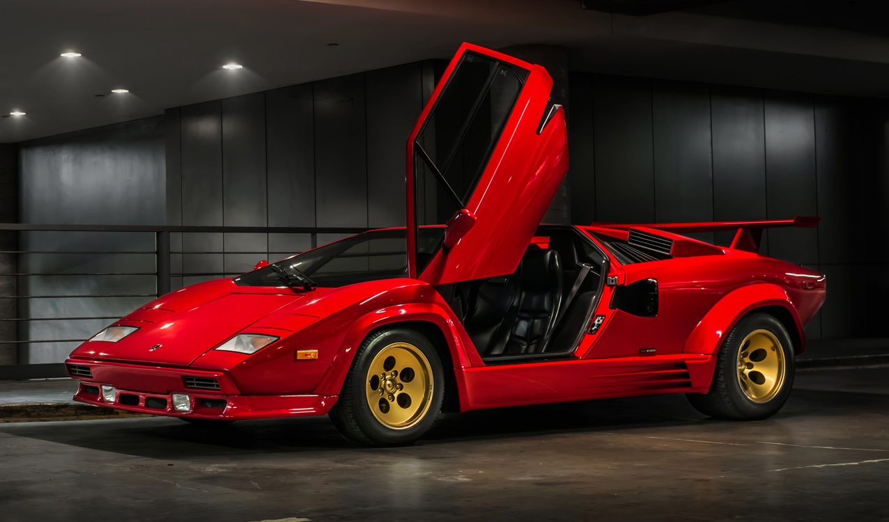 1988 Lamborghini Countach 5000 Quattrovalvole For Sale