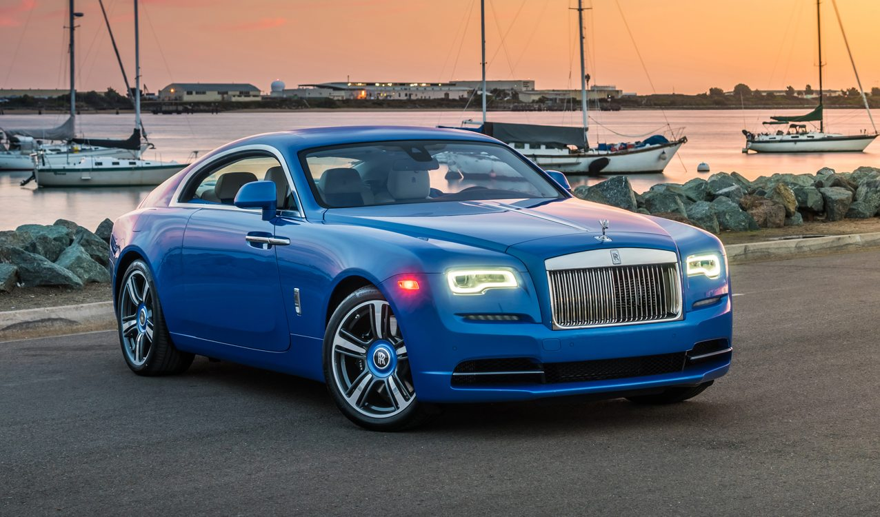 Stunning Arabian Blue 2017 Rolls Royce Wraith For Sale