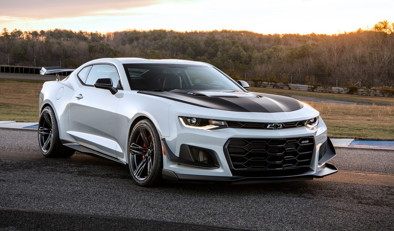 Rick hendrick buys first camaro zl1 1le at barrett jackson for Hendrick mercedes benz
