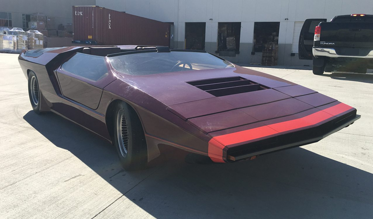 Bizarre 1970 S Foose Concept Car Headed To Auction
