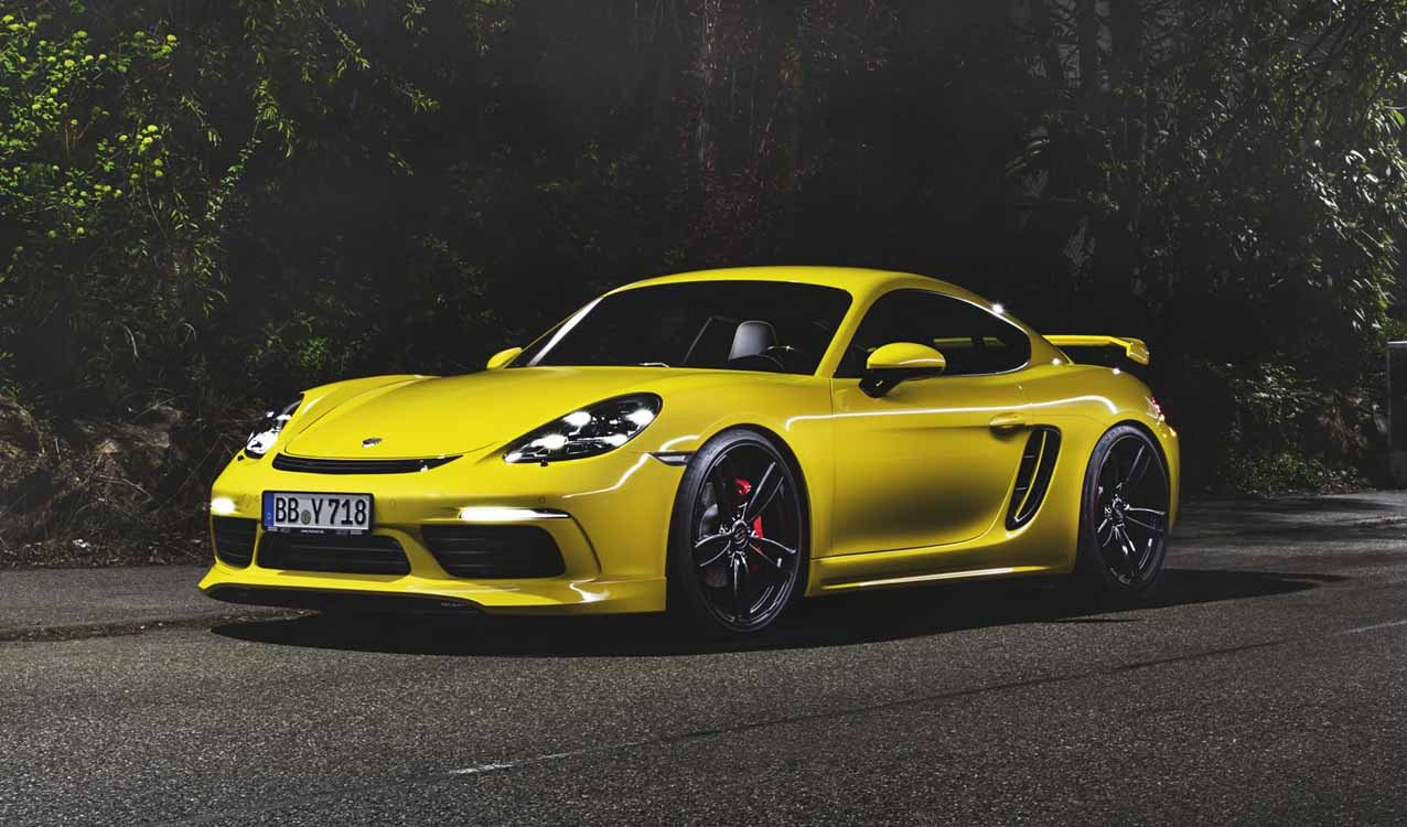 Porsche 718 Cayman Amp Boxster Tuned By Techart