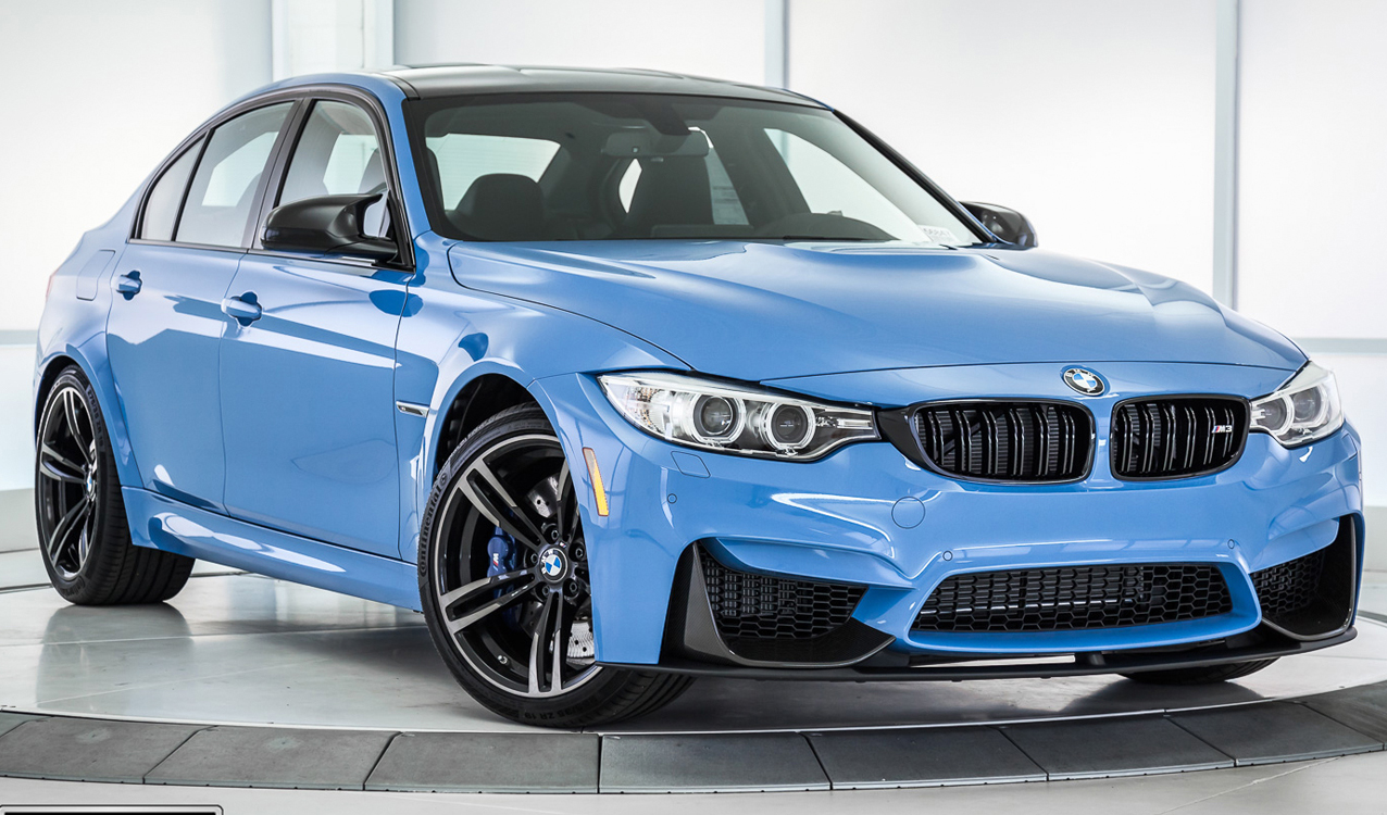 Yas Marina Blue 2017 Bmw M3 For Sale